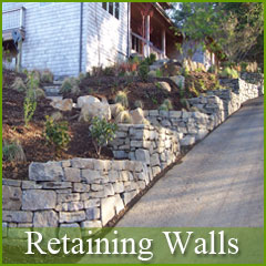 custom retainging walls